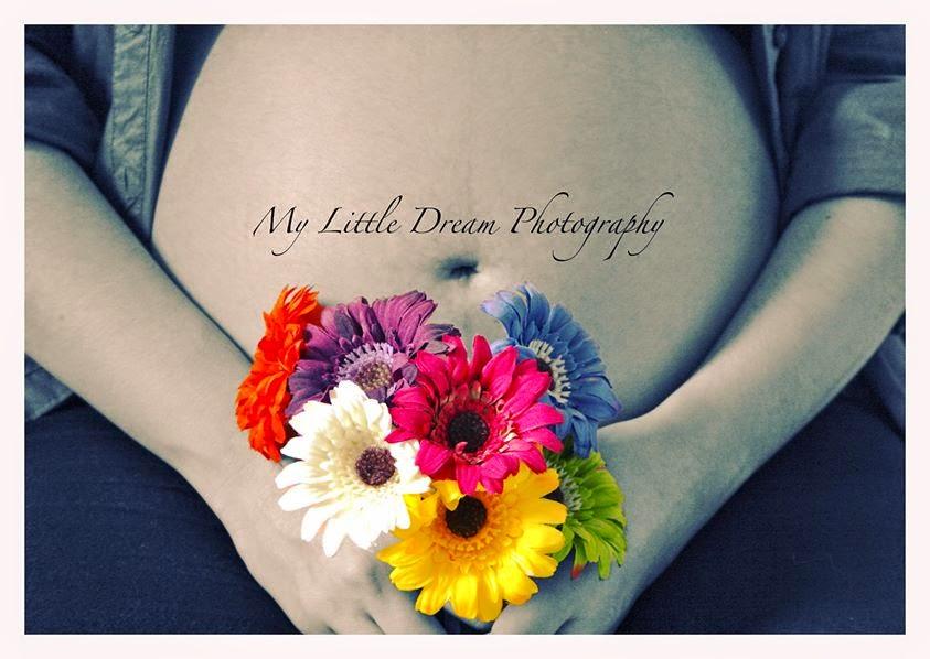 embarazo y flores