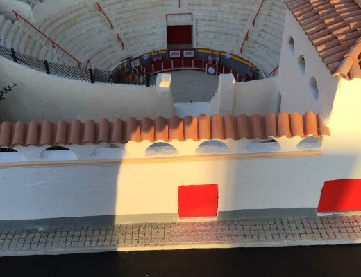 plaza de toros de muro maqueta