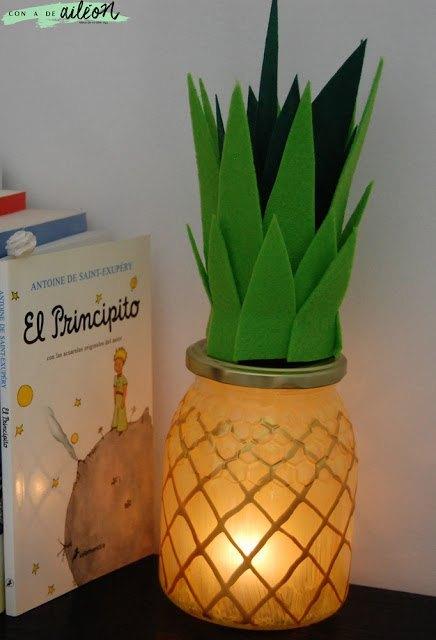piña-lampara-diy