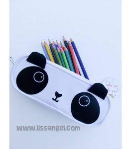 estuche kawaai panda