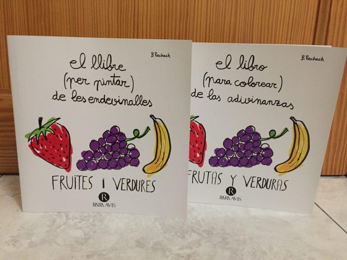 El libro (para colorear) de las adivinanzas. Frutas y verduras. (con ...