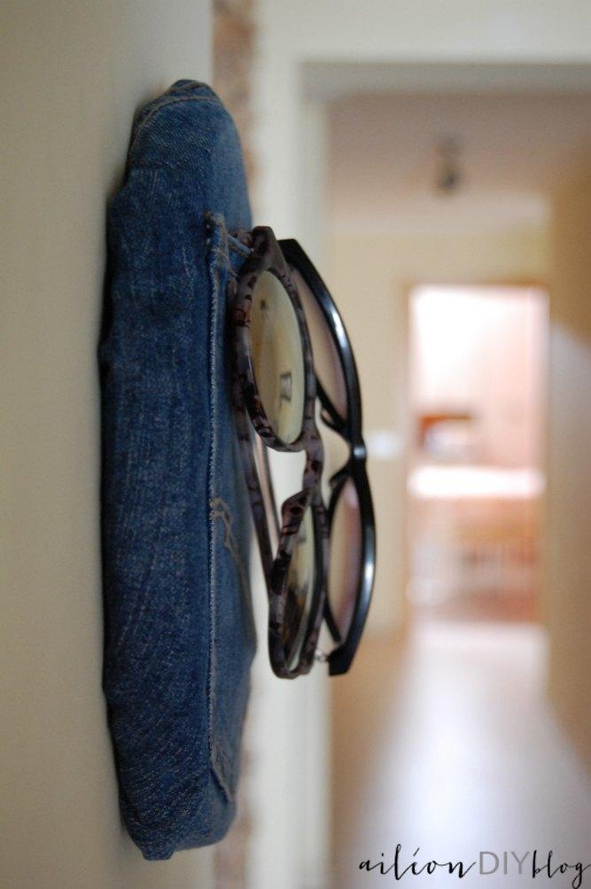 bastidor vaquero colgador de gafas