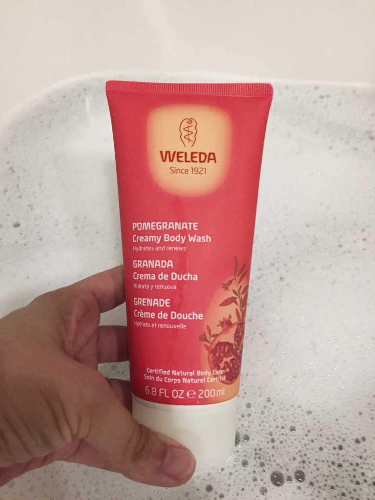 gel ducha natural weleda