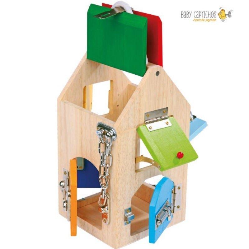 casa cerraduras montessori