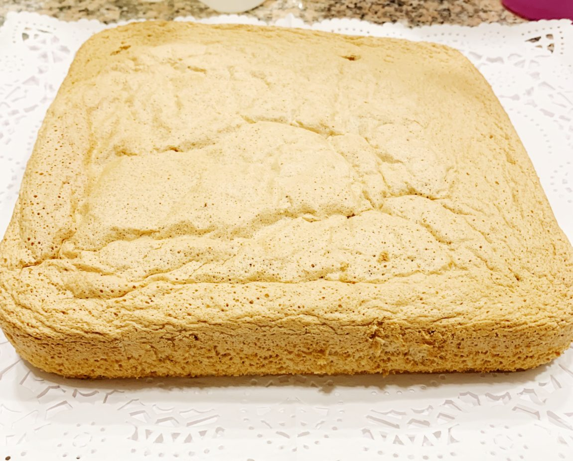 bizcocho sin gluten ni lactosa